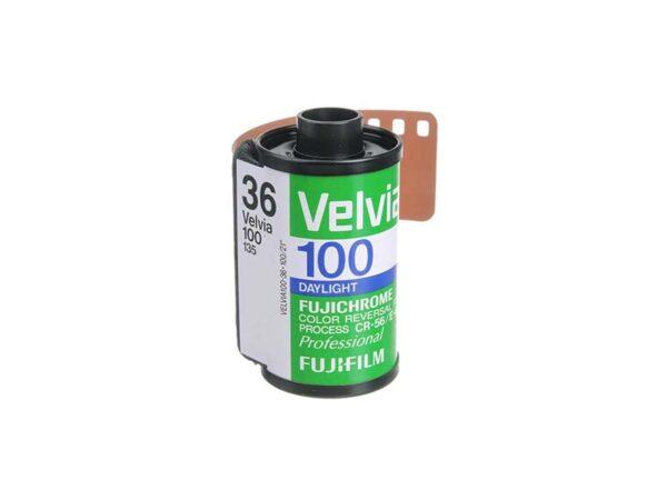 Fujichrome profesional Velvia 100